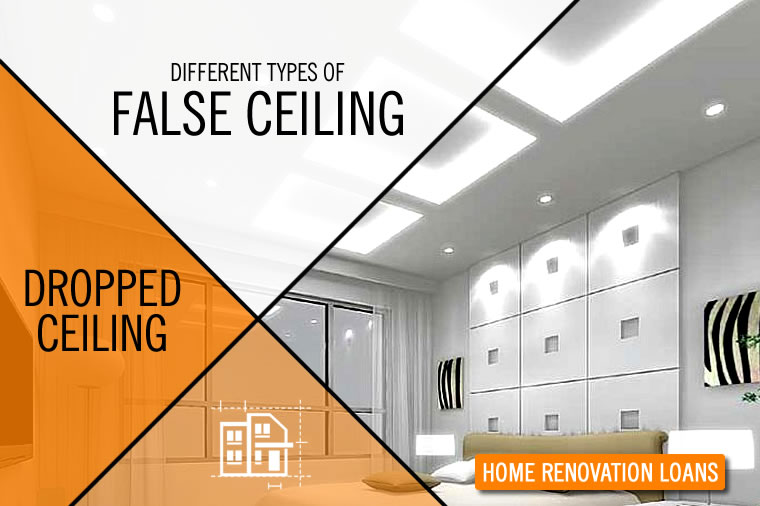 Different types of false ceiling or dropped ceiling wishfin Home renovation channel