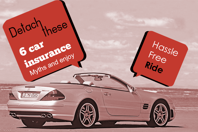 6 car insurance myths