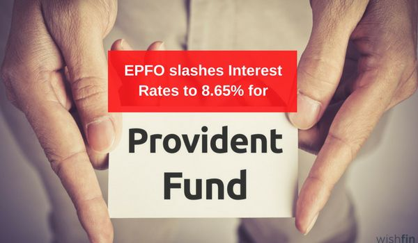 epfo slashes interest rates on pf