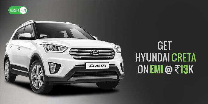 Hyundai Creta At 14k Emi Loan Rates Jan 2019 Price Downpayment