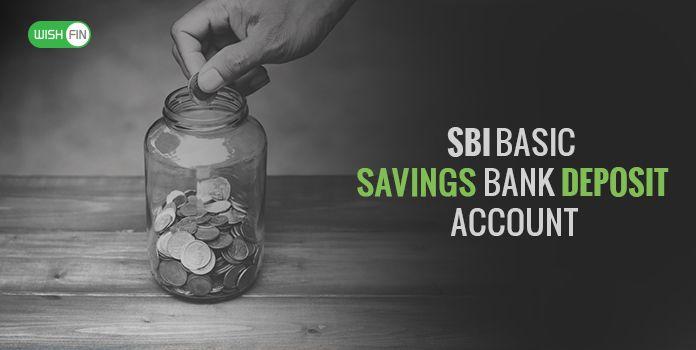 Sbi Basic Savings Bank Deposit Bsbd Account Zero Balance Wishfin