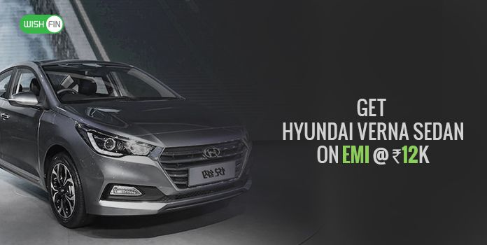 New Hyundai Verna At 12k Emi Price List Jan 2019 Downpayment Loan