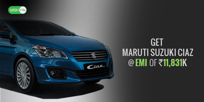 Maruti Suzuki Ciaz Emi Loan Rates Jan 2019 Price List Downpayment