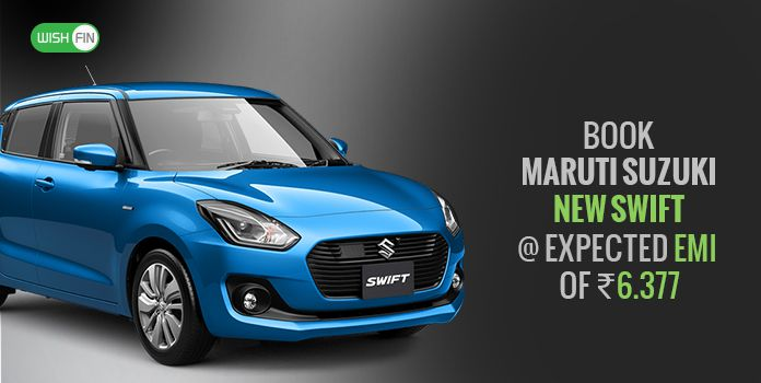 Maruti Suzuki New Swift Emi Loan Rates Jan 2019 Price List