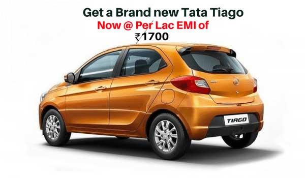 Tata Tiago at Lowest EMIs